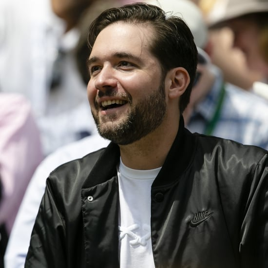 "Alexis Ohanian Wears ""Unstoppable Queen"" Shirt For Serena"