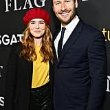 Zoey and Glen made a picture-perfect pair at the Last Flag Flying premiere in November 2017.