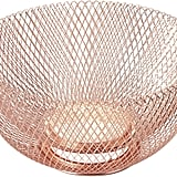 NIFTY 7510COP Double Wall Mesh Copper Decorative and Fruit Bowl