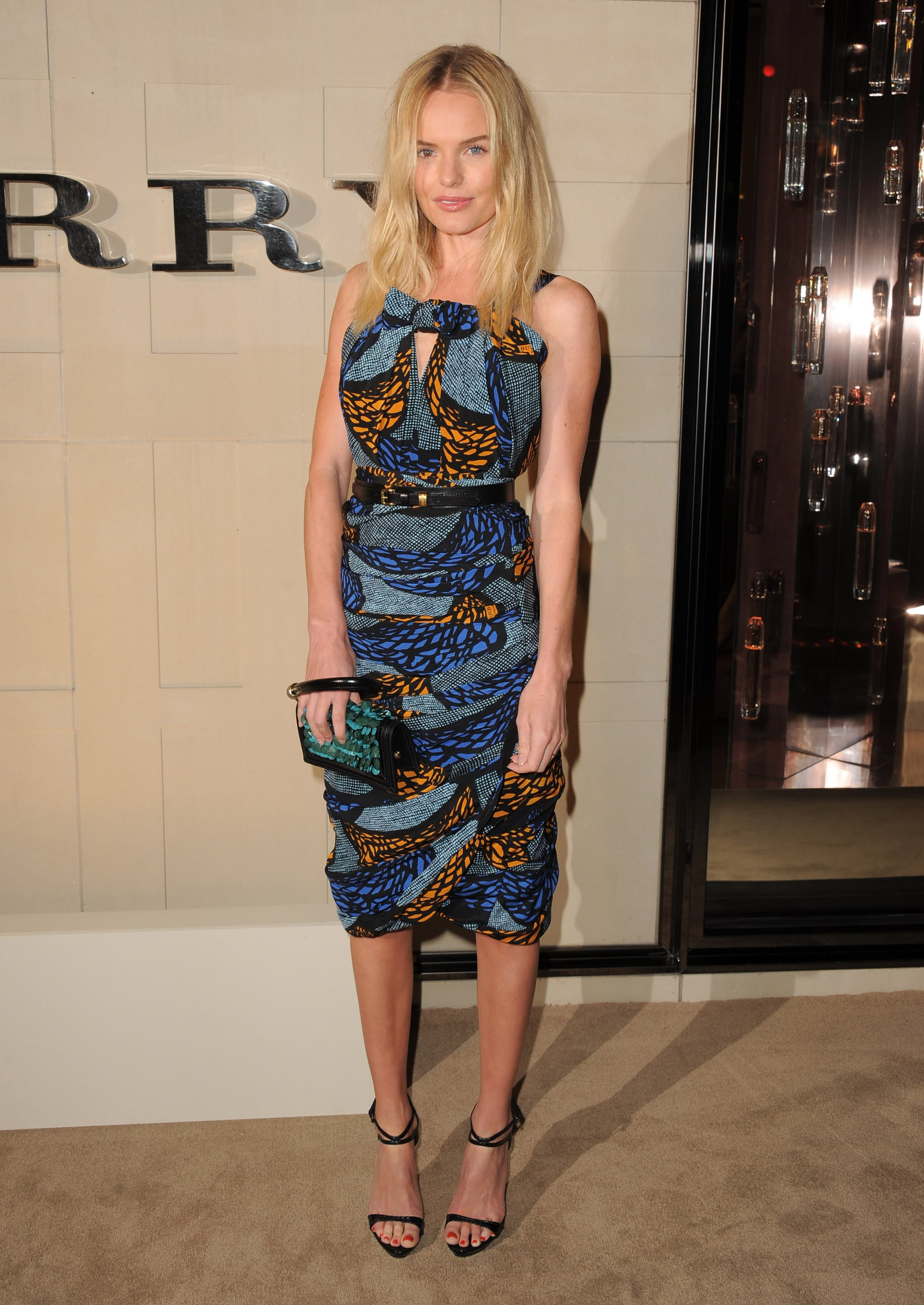 Kate Bosworth attended the Burberry Body launch.