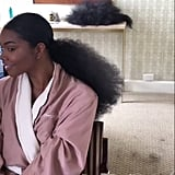 Gabrielle Union's Hair at the 2017 Emmy Awards