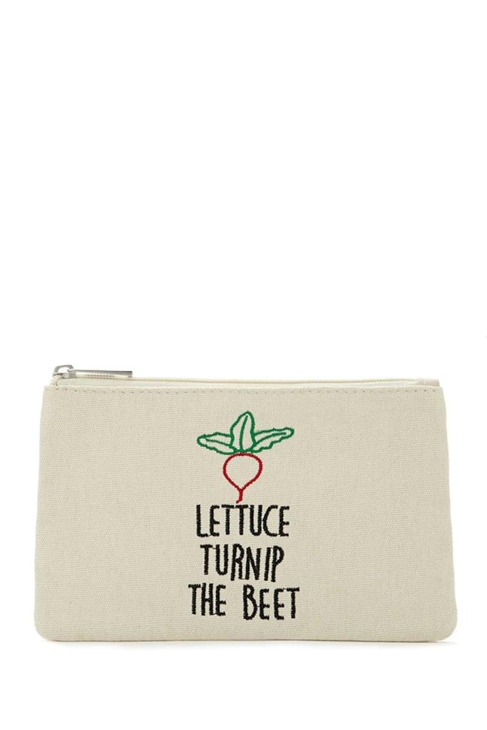 Vegetable Makeup Bag ($5)