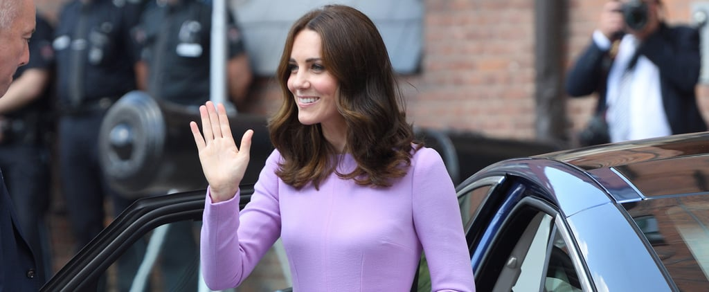 It's a Fact That Kate Middleton Looks Good in Every Color, but Especially Lavender