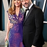 Leslie Mann and Judd Apatow at the Vanity Fair Oscars Afterparty