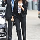Meghan's Trouser Suit