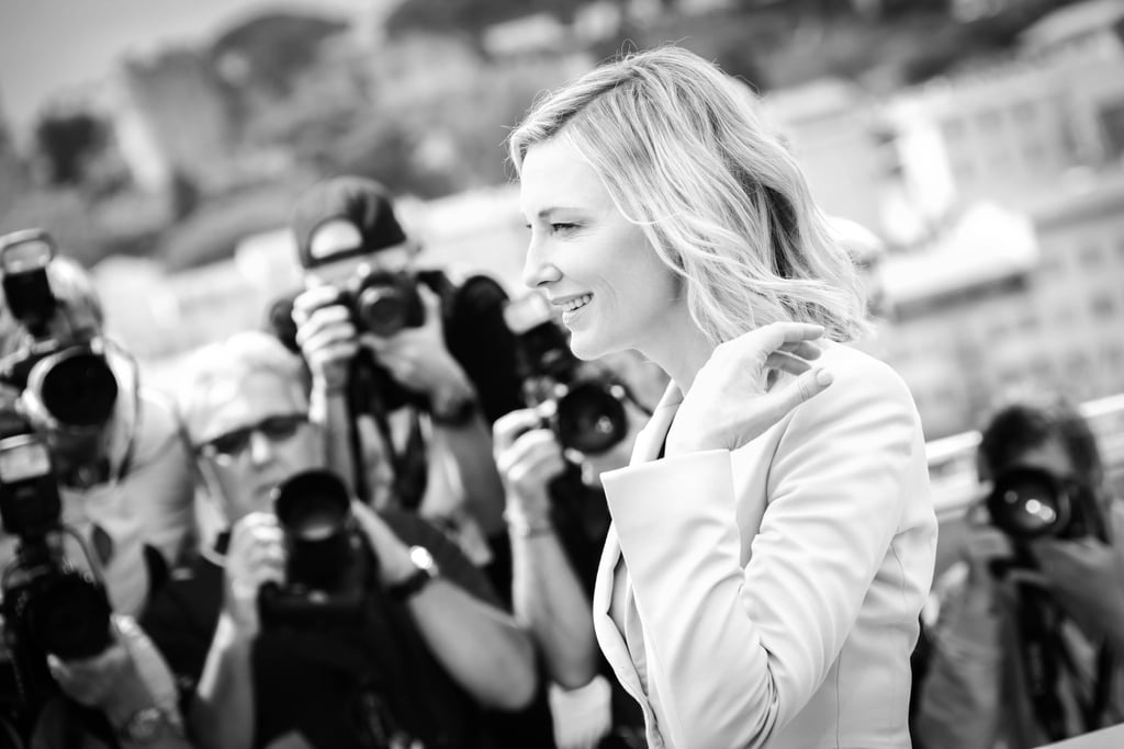 Cannes Film Festival Black and White Photos