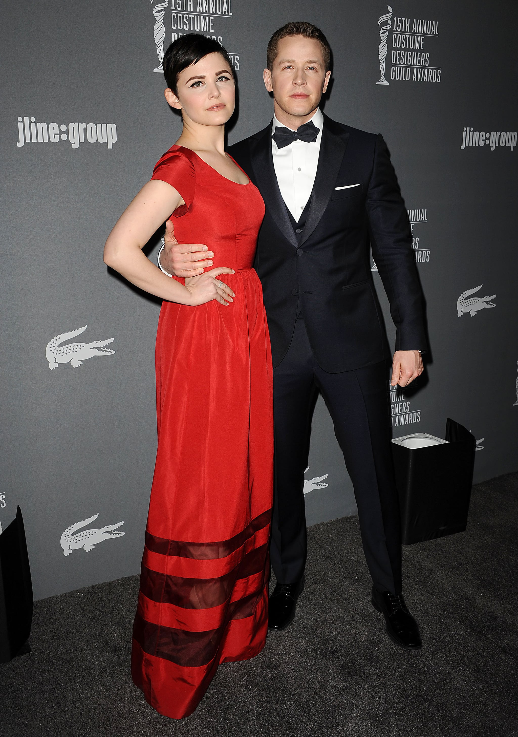 Ginnifer Goodwin and Josh Dallas walked the red carpet.