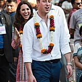 Kate Middleton and Prince William Candid Tour Pictures 2016