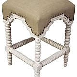 Madeline: Noir QS Abacus Counter Stool