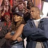 Beyoncé et Jay Z en 2002