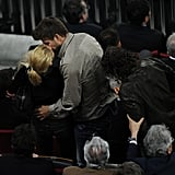 Shakira and Gerard Pique Make Out During Barcelona's Win Over Osasuna