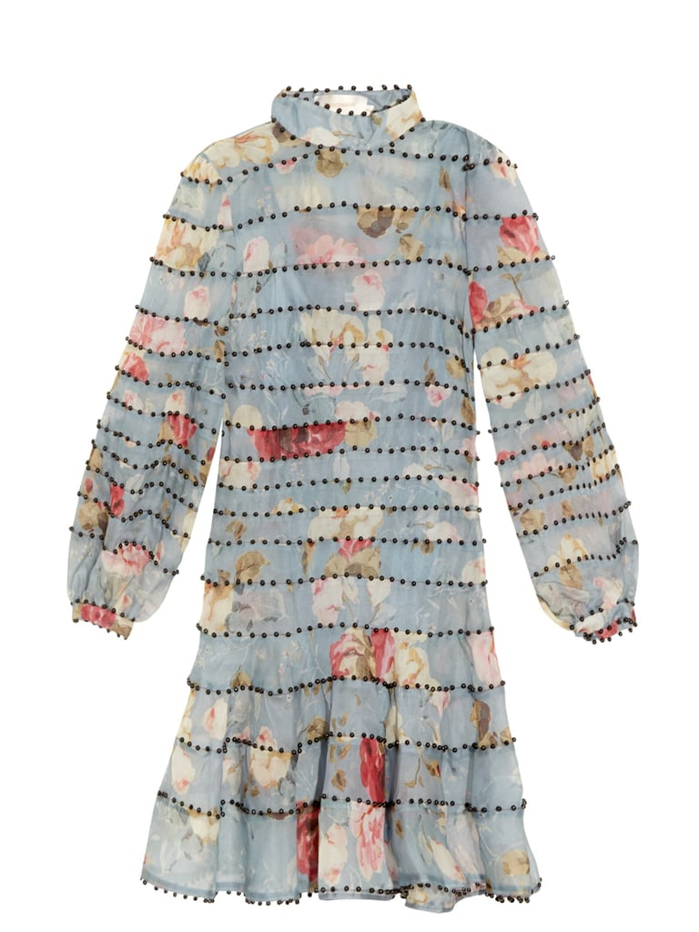 Zimmermann Havoc Embellished Silk-Organza Dress (£1,815)