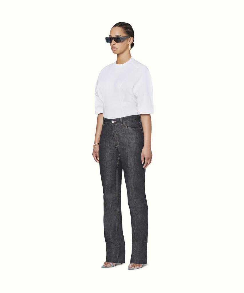 FENTY Official Website Denim Straight Fit Jeans