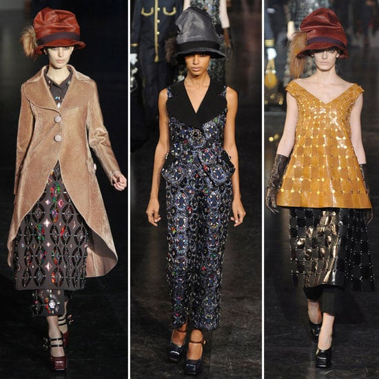 Review and Pictures of Louis Vuitton Autumn Winter 2012 Paris Fashion Week Runway Show
