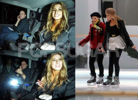 Photos of X Factor Stacey Solomon and Olly Murs Plus Stacey Ice Skating With Dannii Minogue