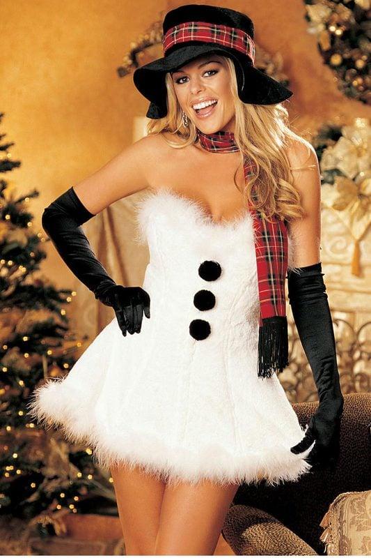 Sephora Advertisement Snowman | Sexy Christm...