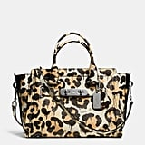 Coach Swagger in Wild Beast Print Pebble Leather ($650)