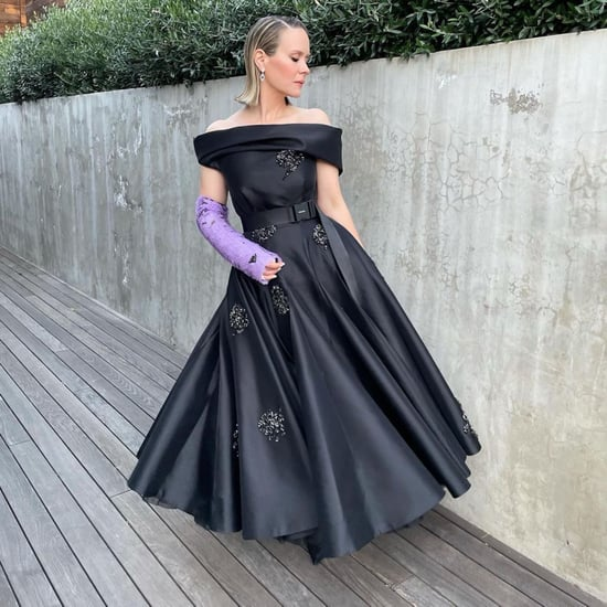 Sarah Paulson's Prada Dress and Cast at 2021 Golden Globes