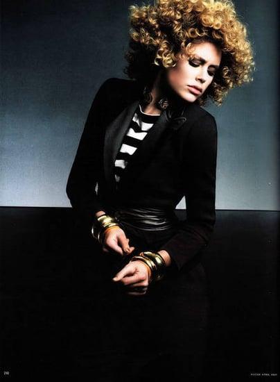 Doutzen Kroes does Vogue Germany april 09