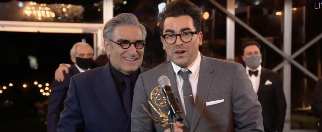 Eugene and Dan Levy 2020 Emmys Acceptance Speech | Video