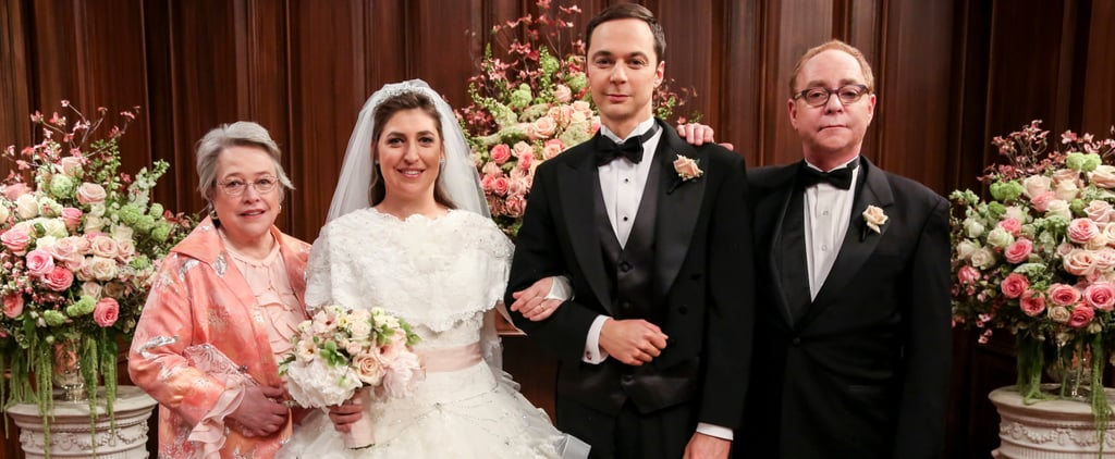 Sheldon and Amy's Wedding on Big Bang Theory Photos