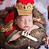 Photo Shoot of Babies Dressed as the Nutcracker