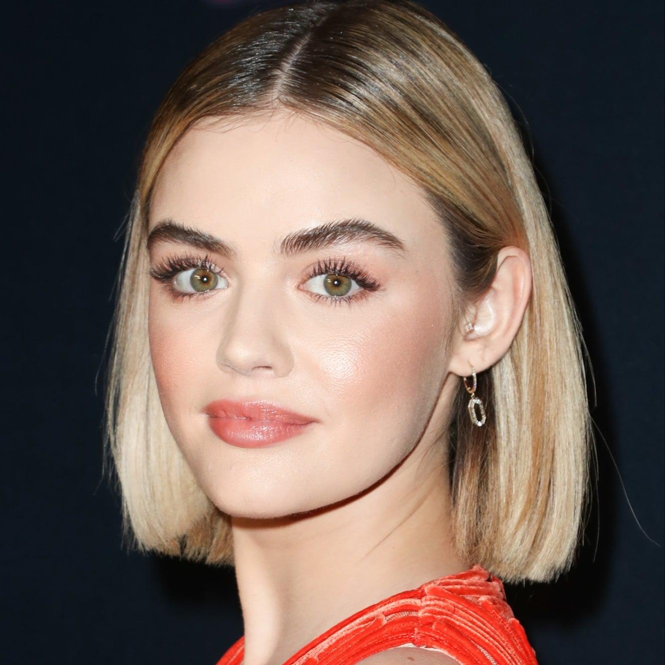 Lucy Hale Brown Hair 2019 Popsugar Beauty Australia
