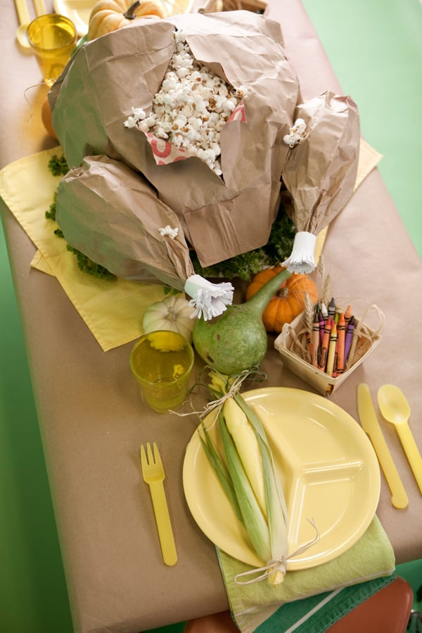 For Thanksgiving: Paper-Bag Turkey