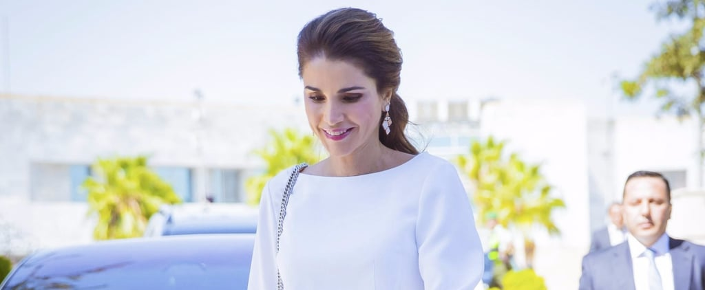 Queen Rania's Printed Skirt Will Remind You of Summer, but You'll Want to Wear It For Fall