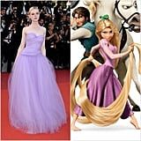 Elle Fanning as Rapunzel From Tangled