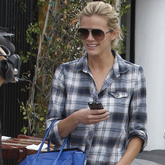 Celebrity Style Plaid