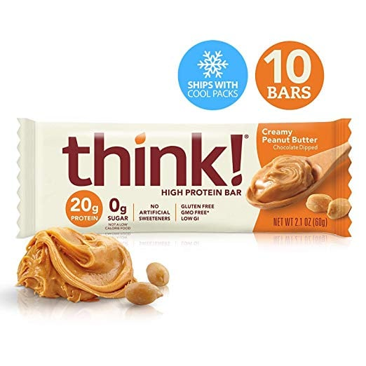 Think! High Protein Bars - Creamy Peanut Butter