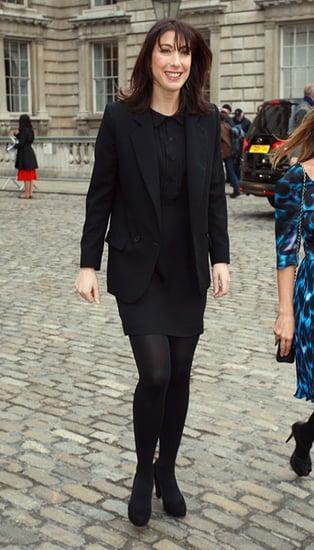 Harold Tilman and Samantha Cameron Open London Fashion Week