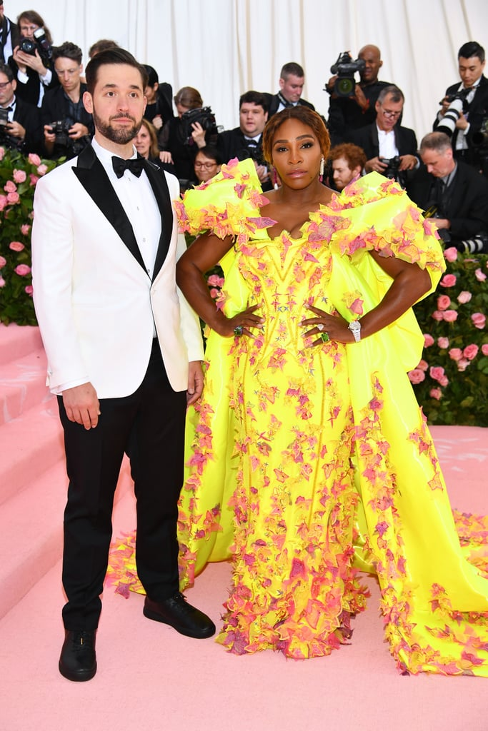 Serena Williams and Alexis Ohanian at the Met Gala
