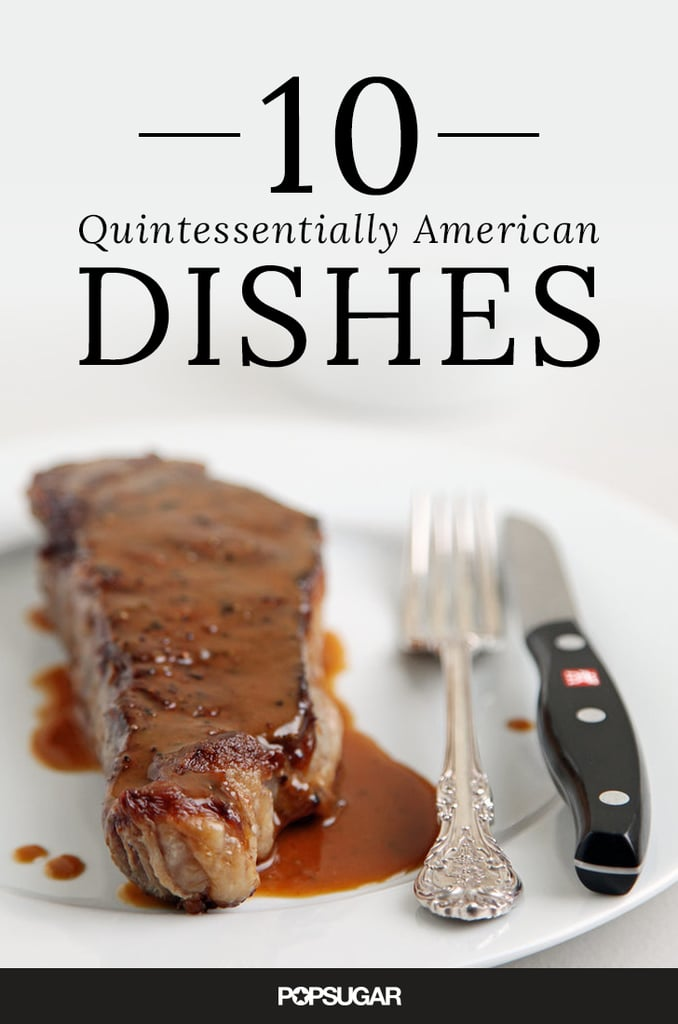 Traditional American Dishes