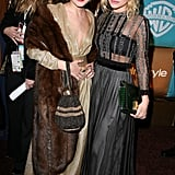 Mary-Kate and Ashley Olsen in January 2007