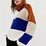 Stradivarius Bold Stripe Sweater