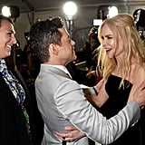 Rami Malek and Nicole Kidman at the Critics' Choice Awards 2019