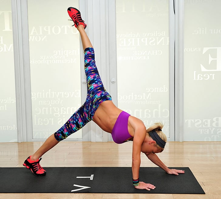 Sculpt Your Legs With 4 Effective Tracy Anderson Moves