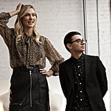 Project Runway Episode 8: Karlie's Leopard Blouse and Leather Skirt