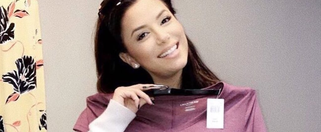 Eva Longoria Wine Maternity Shirt