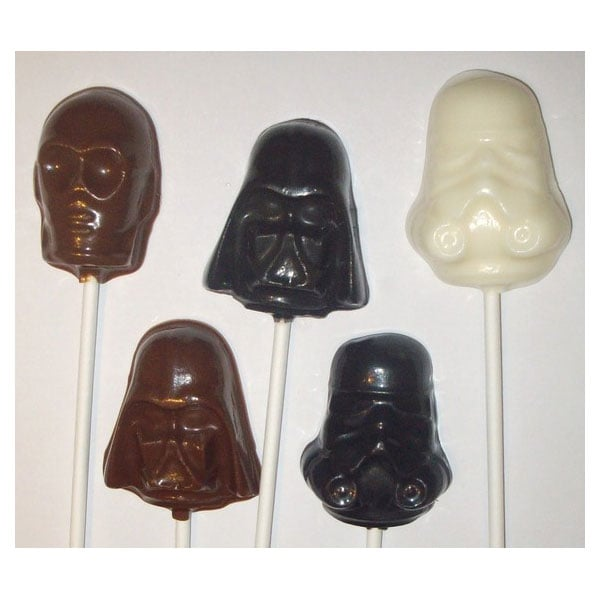 Star Wars Lollipops ($15)