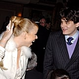 In March 2005, John Mayer got a laugh out of Mariah Carey at the 20th Annual Rock and Roll Hall of Fame induction ceremony.
