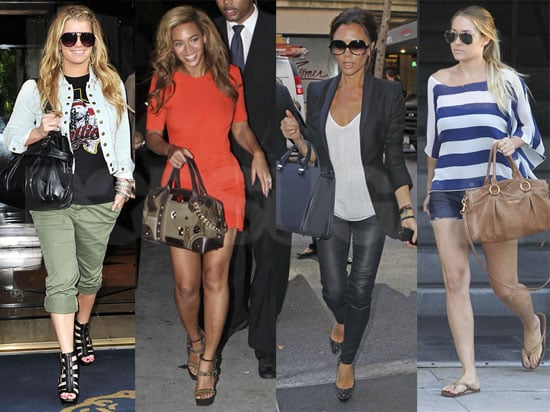 Which Star — Jessica Simpson, Lauren Conrad, Beyoncé or Victoria Beckham —Would You Shop With on Black Friday?