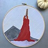 """""""Balenciaga"""" Hoop Wall Hanging ($42)"""