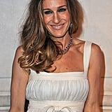 Sarah Jessica Parker at the opening of Marc Jacob's Louis Vuitton Exhibit in Paris.