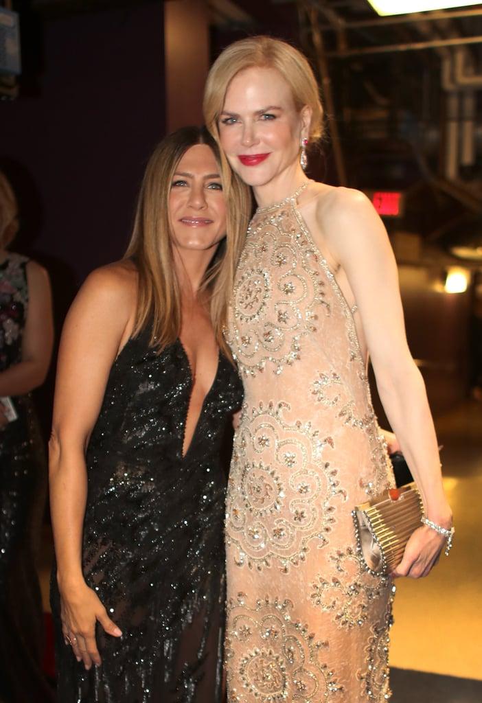 Pictured: Nicole Kidman and Jennifer Aniston