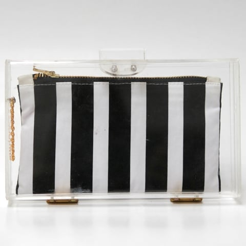 3 Clear Clutches Under £35