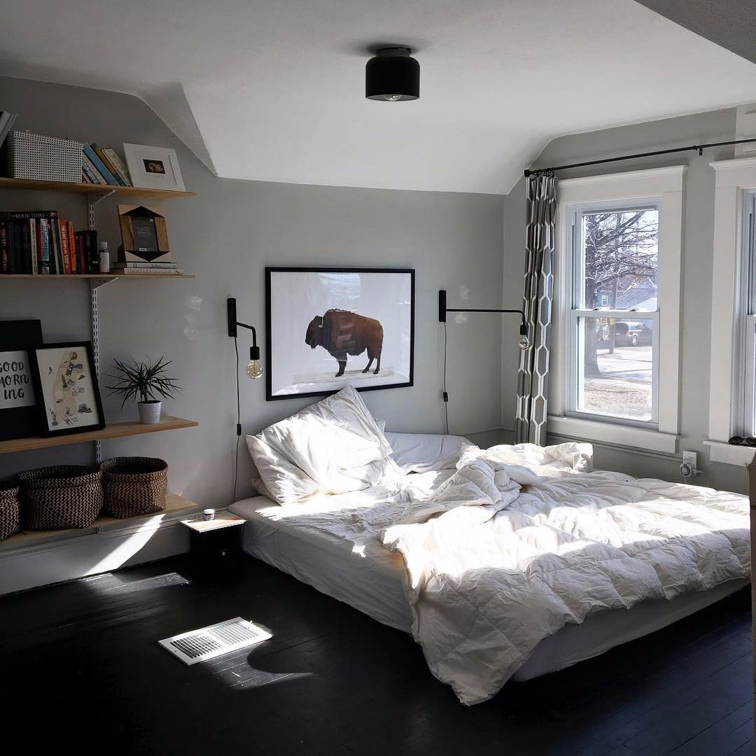 Why You Should Put Your Bed on the Floor  POPSUGAR Home