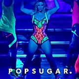 Britney Spears went with a neon theme for a section of the show.